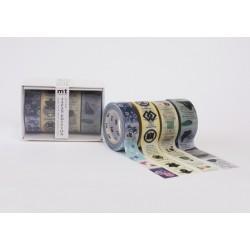 Set Masking Tape Roll Washi...