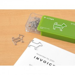 """Dog Shaped Paper Clips """"..."""