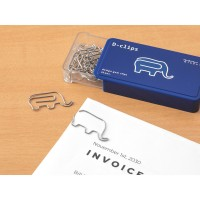 Elephant Shaped Paper Clips...