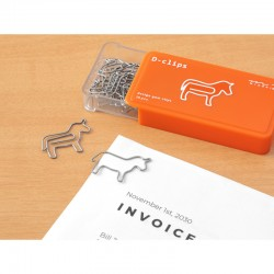 """Horse Shaped Paper Clips """"..."""
