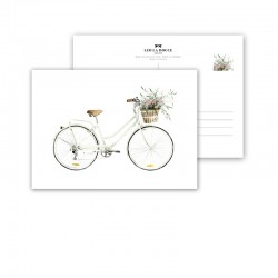 "Postcards "" Bicycle - Love..."