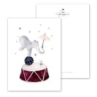 "Cartolina "" Elefante..."