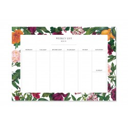 Weekly Planner A5 50 sheets...