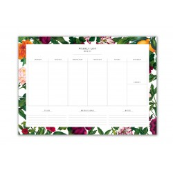 Weekly Planner A4 50 sheets...