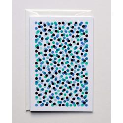 """Greeting Card B6 """" Confetti..."""