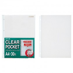 A4 Clear Punched Pockets...