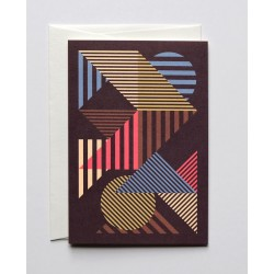 """Greeting Card A6 """" Aligned..."""