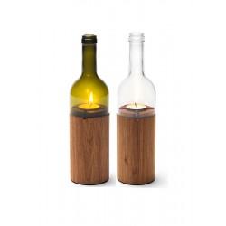 Oak Wooden Candle Design...