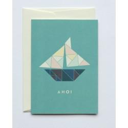 """Greeting Card A6 """" Ahoi """",..."""
