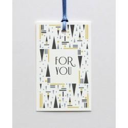 "Single Gift Tag "" New York..."