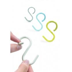 S Hook Shaped Hanger 3 Pack...
