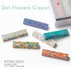 Dot Flowers Crayon Set...