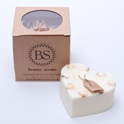 Large Heart Scented Soy Wax...