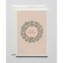 """5 Greetings Card A6 """" Happy..."""