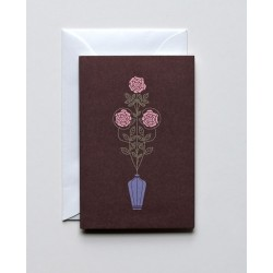 """5 Greeting Cards A7 """" Three..."""