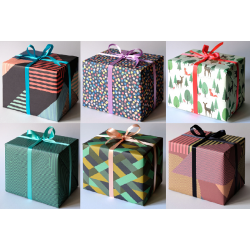 Gift Wrapping Paper Set 6...