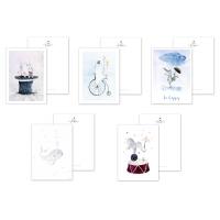 5 Cartoline di Disegni...