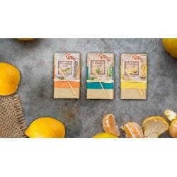 Set regalo di 6 saponi profumati menta-rosemarino-limone