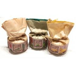 gift set handmade natural bath fizzy mint-rosemary-lemon