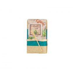 handmade natural soap bar mint