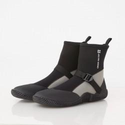 waterproof elastic lightweight boots gray