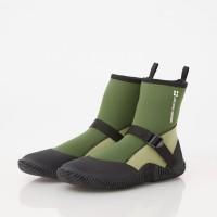 waterproof elastic lightweight boots green