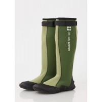 stivali di gomma impermeabili leggeri comodi verde