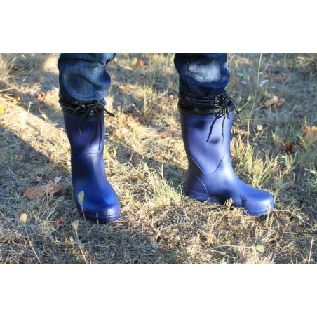 image comfortable ultralight boots for gardening and agricolture color navy